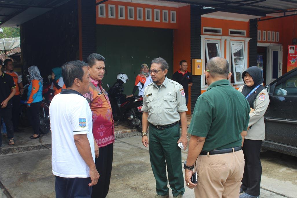 Kedatangan rombongan Biro Hukum BNPB ke DPKPB Pangandaran