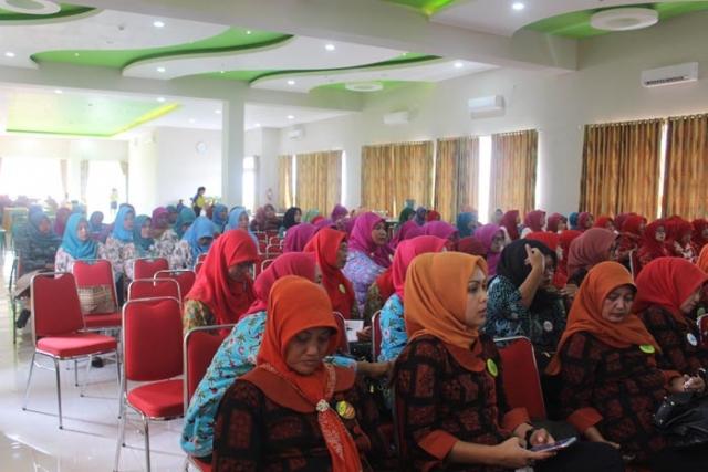 Kegiatan BBM Bersama PKK Kabupaten Pangandaran