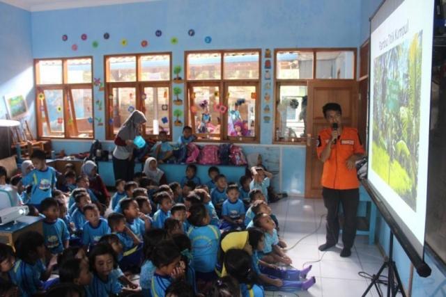 Pengenalan Rambu Evakuasi Kepada Anak-Anak